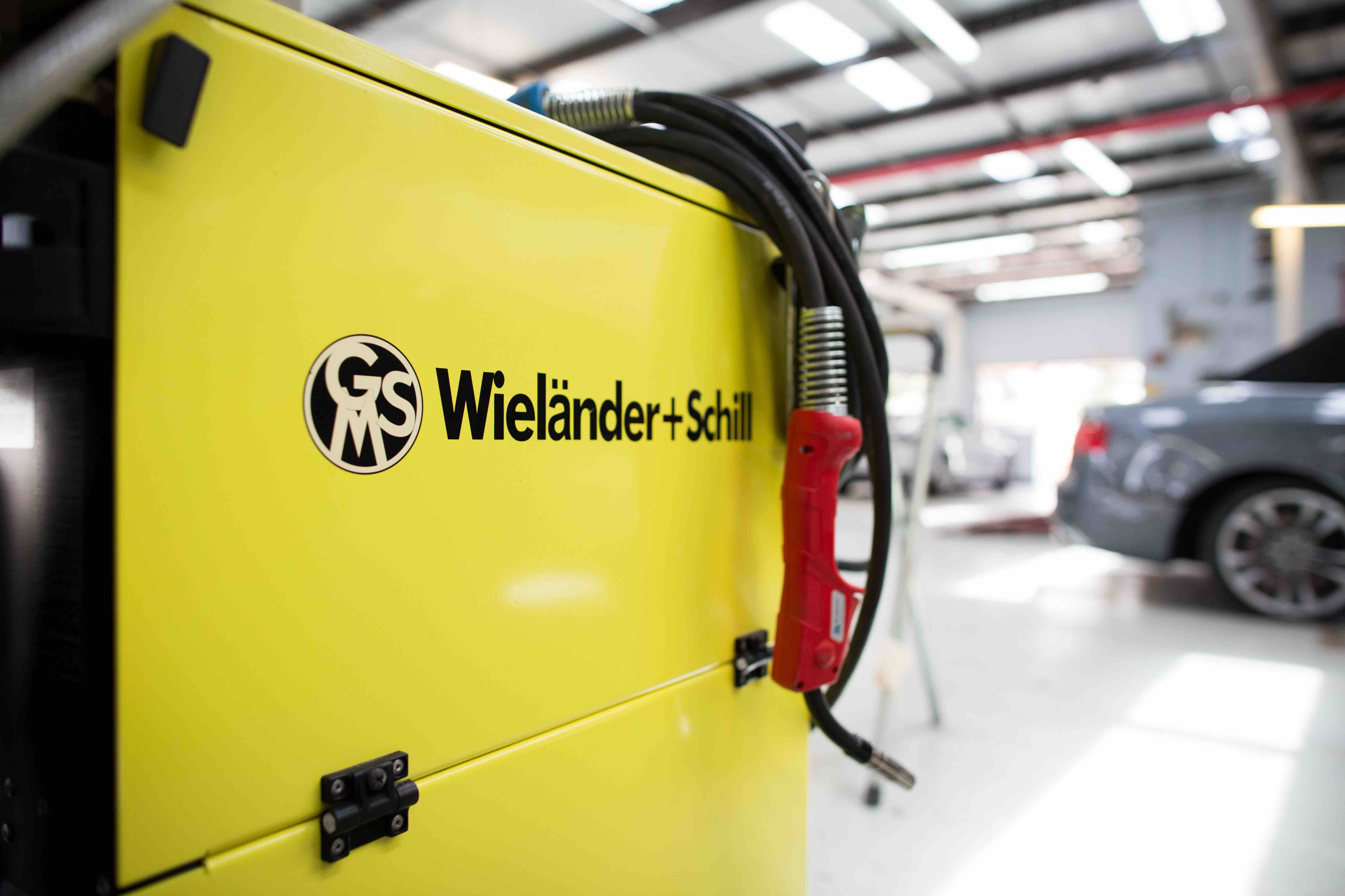 Daya's Wielander+Schill refinish application for auto body repair
